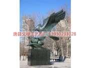 城市雕塑_城市雕塑雄鹰_城市雕塑制作厂家