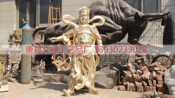 二郎神雕塑