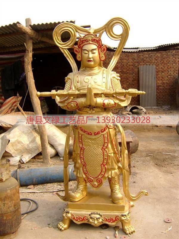 铜雕关公 (12)