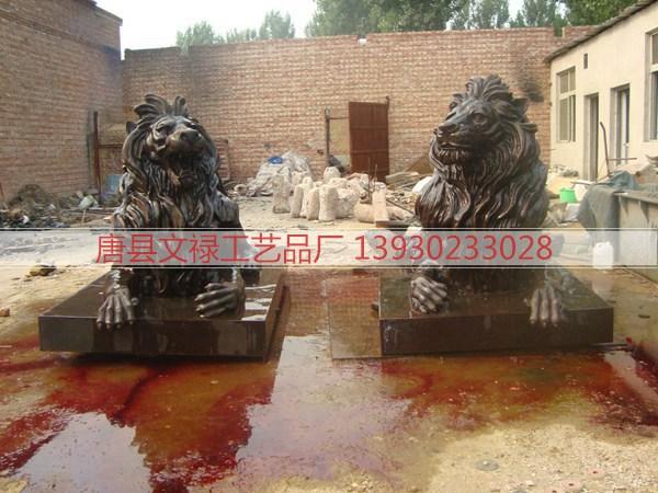 铜雕狮子 (100)