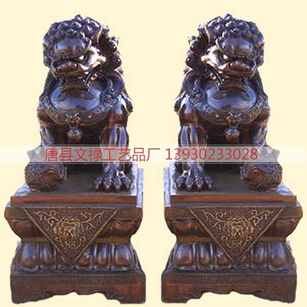 铜雕狮子 (1)