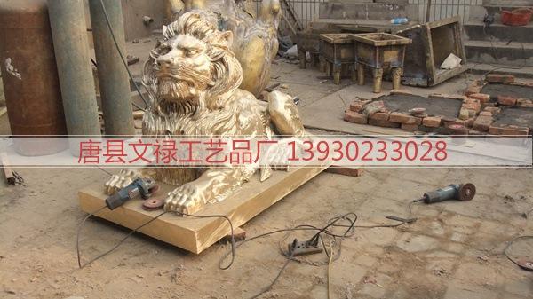 铜雕狮子 (103)