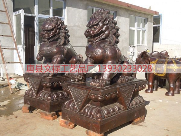 铜雕狮子 (107)