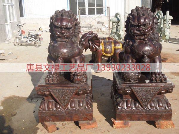 铜雕狮子 (105)
