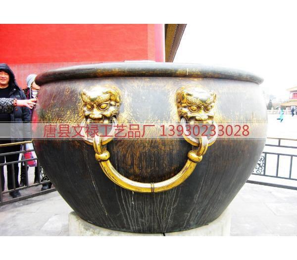 缸_大型铜缸_故宫铜缸_铜缸铸造_铜缸铸造厂_铜缸制作厂家